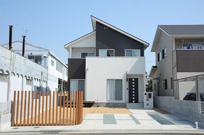 デザイナーズハウスの家